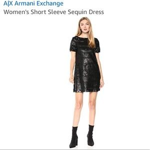 Armani Exchange Sequin Dress